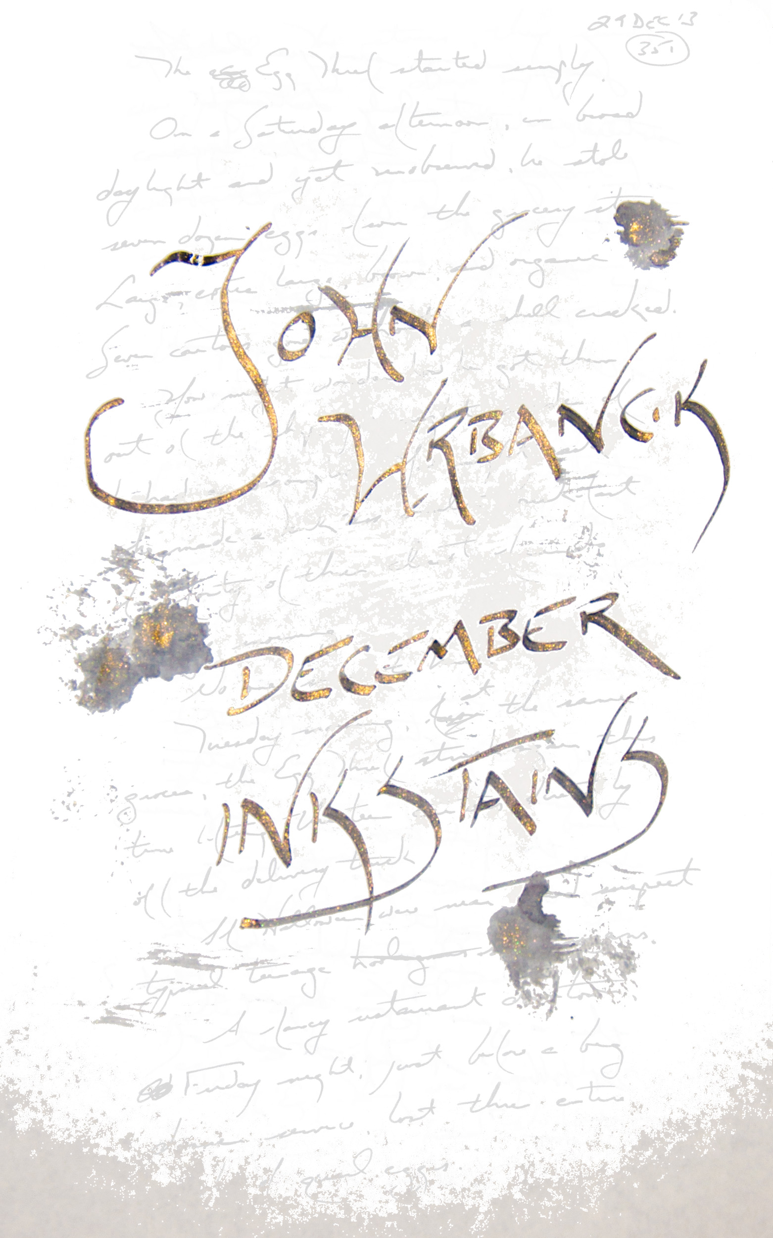 InkStains December